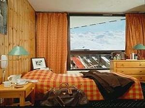 Val Thorens - Wohnbeispiel Appartement an der Piste