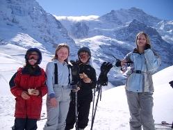 Familienskireisen Österreich