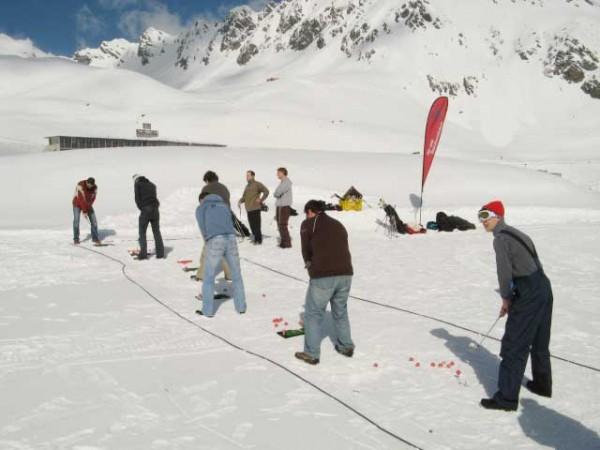 Eventreisen zum Cross Golf im Winter - Golfen im Zillertal und Österreich