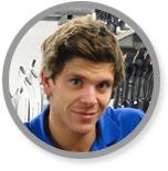 Aaron Skistationsleiter bei Aktives Reisen