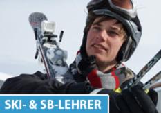Ski- und Snowboardlehrer bei Aktives Reisen