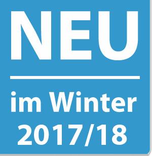 Neu im Winter 2016/2017