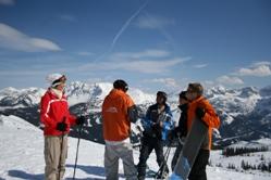 Pauschal Skireisen - Gruppenreisen mit Bustransfer und pistennahen Unterkünften in Österreich,Frankreich,Schweiz