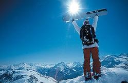 Pauschalreisen in die Alpen, inkl.Bustransfer und Skipass