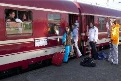 Gruppenreise mit Bus oder Bahn - mit der Bahn zum Bus