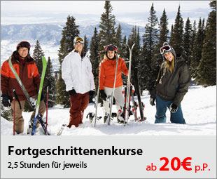 Fortgeschrittenenkurse in den Sportclubs in Österreich und in der Schweiz