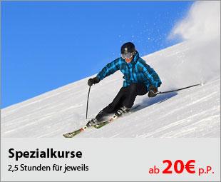 Spezialskurse in den Sportclubs in Österreich und in der Schweiz