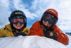 Skireise Familie-Kinder