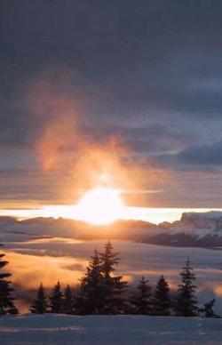 Skireise Silvester in Frankreich