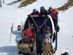 Skireisen Familie Kinderfreizeit