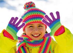Kinderspaß im Winterurlaub