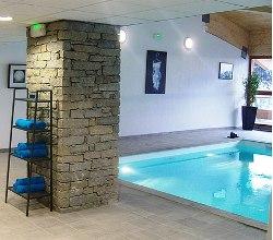 Wellness im Winterurlaub - Sauna und Schwimmbad im Appartementhaus