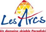 Les Arcs - La Plagne Skigebiet in Frankreich - Logo