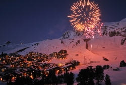 Nightlife in Frankreich - Winterurlaub in Les Arcs - La Plagne