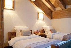 Appartements in Les Coches - Schlafzimmer Beispiel