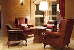 Kaminstube in der Lobby - Relaxen mit W-LAN