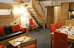 Appartements Wohnbeispiel in Arc 1600 auf 2 Etagen