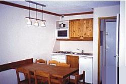 Appartements im Trois Vallees - Wohnbeispiel in Les Menuires