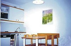 Appartements im Trois Vallees - Küchenbeispiel in Les Menuires