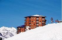 Unterkunft an der Piste im Skigebiet Trois Vallees