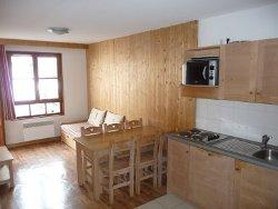 Appartements direkt an der Skipiste - Küchenbeispiel