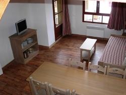 Appartement in Frankreich - Wohnbeispiel Wohn Schlafraum