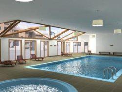 Appartements in Frankreich mit Sauna und Schwimmbad - Wellness im Skiurlaub