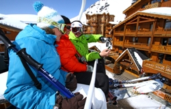 Appartements direkt an der Piste - Party in Val Thorens zu Boarderweek