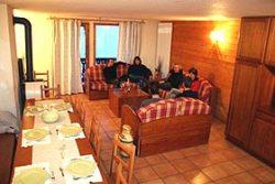 Wohnbereich im Apartement in Val Thorens - Beispiel Wohnzimmer