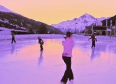 Eislaufen in Val Cenis