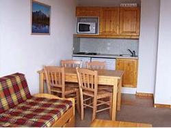Appartements in Frankreich - günstig an der Piste Küchenbeispiel