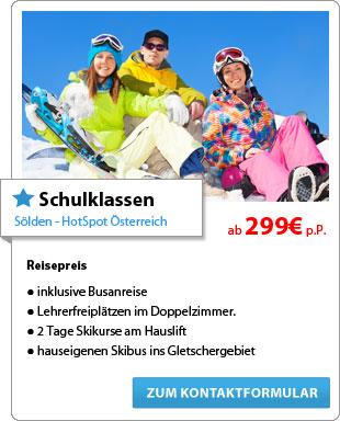 Schulklassen, Sölden - HotSpot Österreich