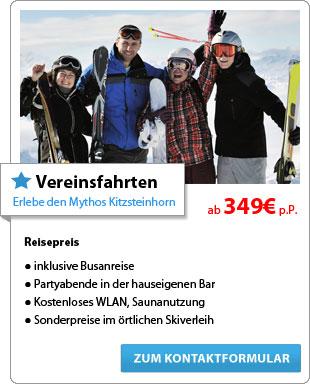 Vereinsfahrten - Erlebe den Mythos Kitzsteinhorn