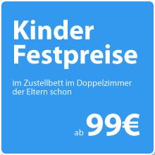 Kinderfestpreise schon ab 99 Euro