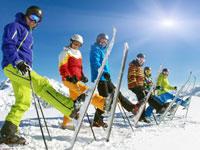 gemischtes Skiguiding in den Singlewochen