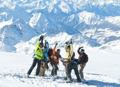 Skiguiding in Bormio Italien