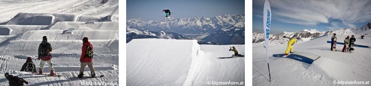 Snowpark Kitzsteinhorn Kaprun