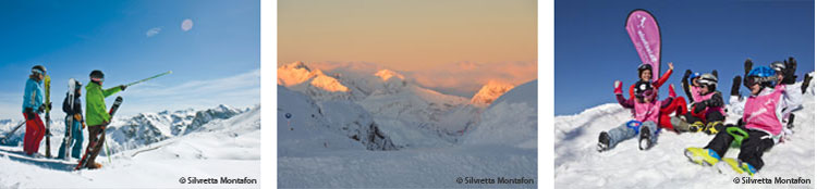 Skifahren in der Silvretta Nova Montafon