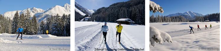 Langlauf im Zillertal