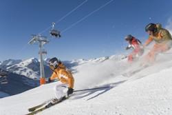 Skifahren in Saalbach Hinterglemm - Skischaukel Österreich