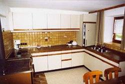 Ferienhaus in Leogang - Gruppenreise- Küche