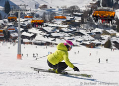 Skigebiet Saalbach Hinterglemm