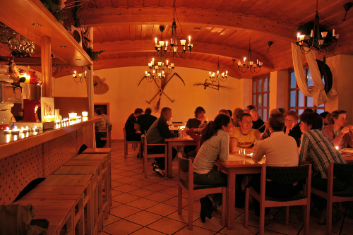 Candle light dinner im Skiurlaub in Zauchensee altenmarkt