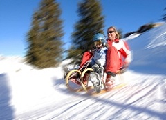 Sport und Action im Sportclub Arlberg - Rodeln am Tag und Nachtrodeln am Sonnenkopf