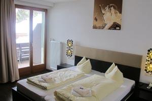 Doppelzimmer im Sportclub Arlberg