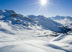 Skifahren im Paznauntal