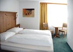 Schlafzimmer in der Alpenperle