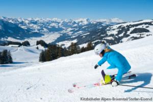Skifahren in Skigebiet Wilder Kaiser