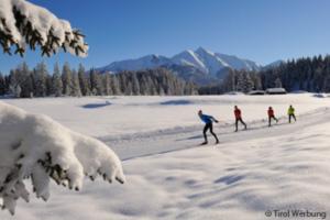 Langlauf in Brixen, Tirol