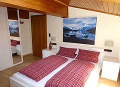 Appartementhaus Zillertal Schlafbereich